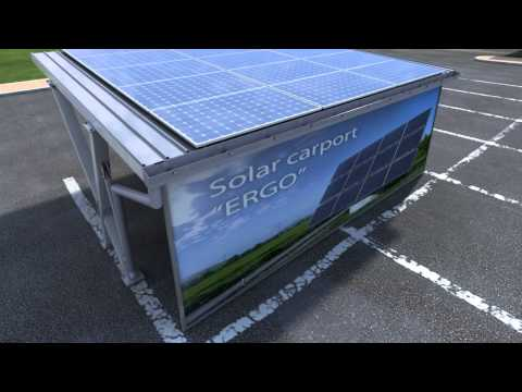 Solar carport / Photovoltaic carport