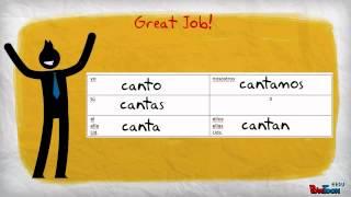 Spanish: Conjugating AR verbs - Present Tense