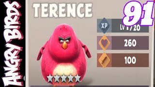 NEW TERENCE RED 5 STAR - HATCHING AND LEVELLING - ANGRY BIRDS EVOLUTION - LET