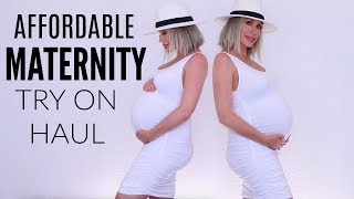 AFFORDABLE MATERNITY TRY-ON HAUL