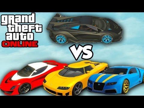 GTA 5 Online - PEGASSI ZENTORNO BEST CAR (Zentorno vs Adder vs Turismo) [GTA V High Life DLC]