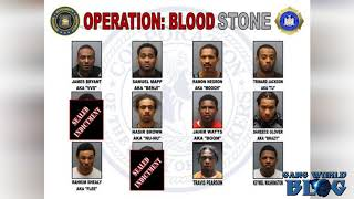Gambar cover Violent Yonkers Blood Stone street gang taken down, a dozen facing charges (NYC)