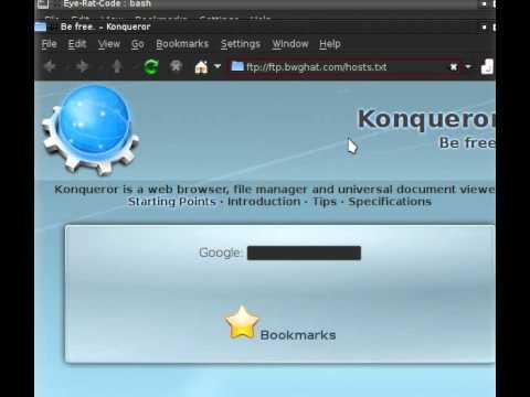 Eye-Rat-Code testing Download Hosts file