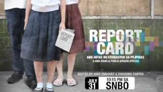 SNBO: Report Card