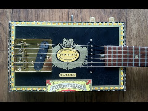 how to build a 6 string hollowbody cigar box guitar youtube. Black Bedroom Furniture Sets. Home Design Ideas