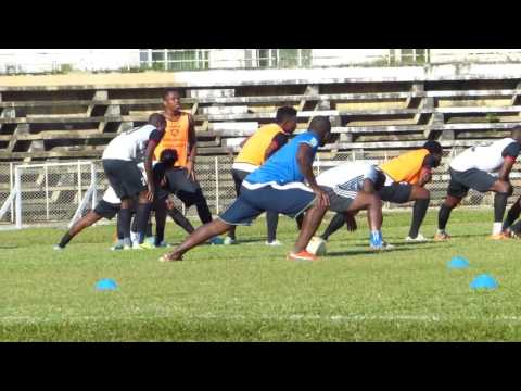 African's all star's Match agains't P M returning leg ...