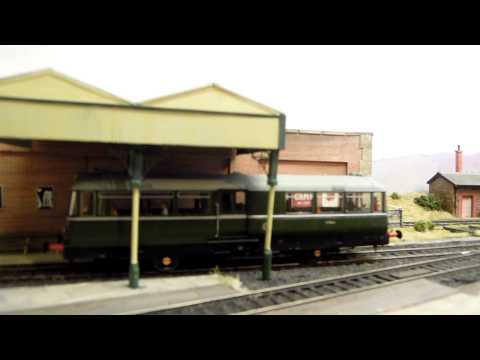 Heljan Railbus on Solway Sands - running at last!