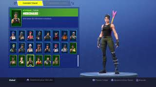 Fortnite account for sale [SKIN HALLOWEEN/NOEL]