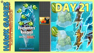 Plants vs Zombies 2 Peashooters' Rampage Frostbite Caves 21 [Special Delivery + Portals]
