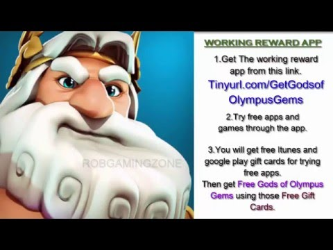 Gods of Olympus - Tips - Tricks - Strategies - Get Gems Fast - IOS ANDROID !