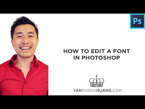 How to Edit a Font in Photoshop (Pen Tool & Direct Selection)