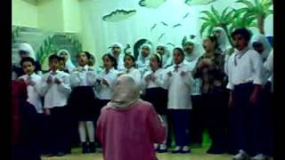 البيئة أغنية لفريق كورال الموسيقي بمدارس زهرة السلام