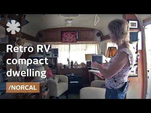 Airstream-inspired retro RV as affordable backyard tiny home