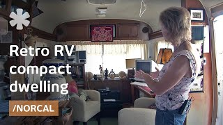 Airstream-inspired retro RV as affordable backyard tiny home