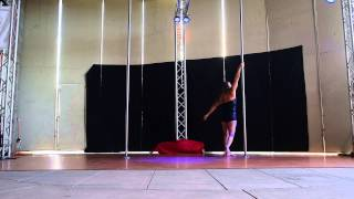 Martina W. Advanced - 2015 Epic Pole Dance Competition