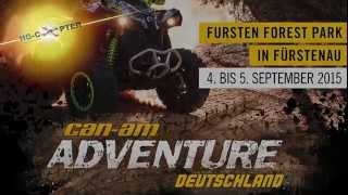 4. Can Am Adventure Tour Deutschland Event im Fursten Forest