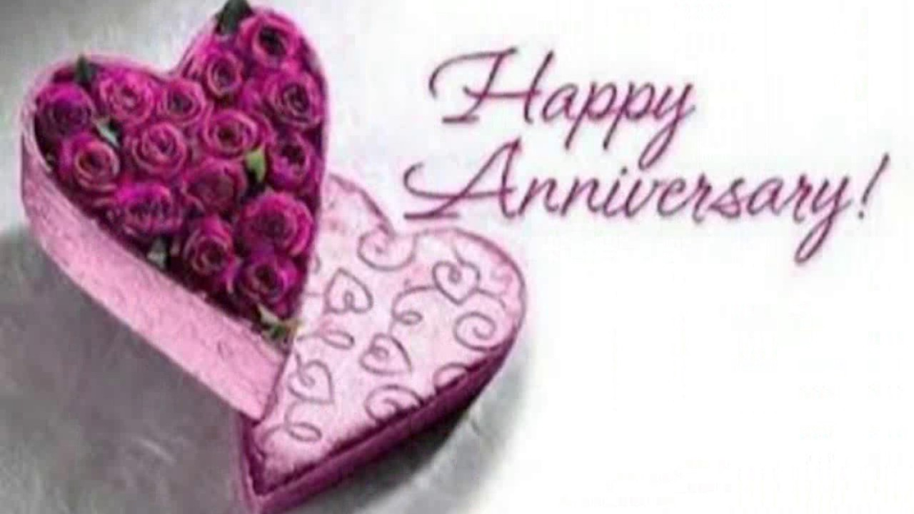 Beautiful Happy Marriage Anniversary Video Greeting Wallpaper Images