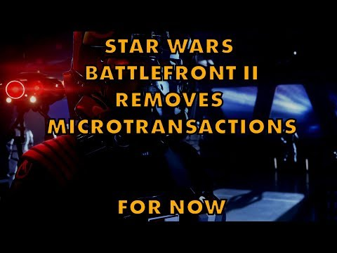 Star Wars Battlefront II TEMPORARILY Removes Loot Box Microtransactions