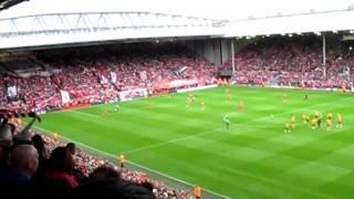 YNWA - Liverpool Vs Wolves 24th Sep 2011