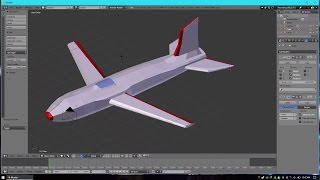 Membuat Pesawat 3D Menggunakan Blender