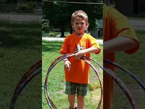 Hoola-hoop talent