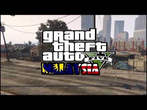 Lawak Gta  Malaysia