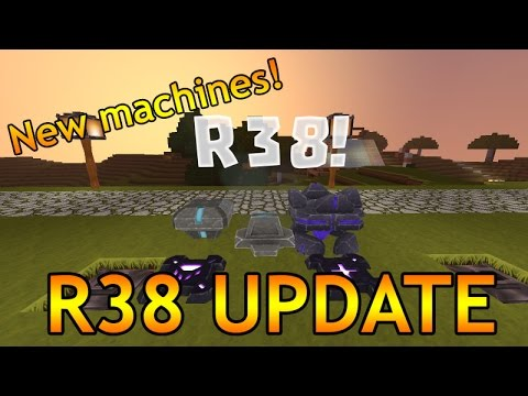 R38 UPDATE - NEW CREATIVERSE UPDATE!!! - Block Phaser, Sensor Block, Mob Spawner and more!