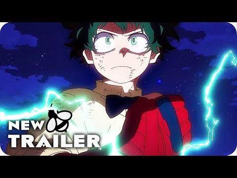 My Hero Academia: Two Heroes Trailer (2018) Boku no Hero Academia the Movie