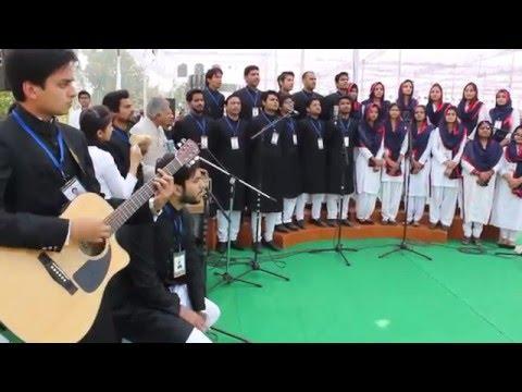 Amu  Tarana sir Syed day  bicentenary celebration by UHMC & Fusion Club members-