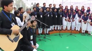 Amu  Tarana  63rd Annual Convocation at Gulistan-e-Syed by UHMC & Fusion Club members-
