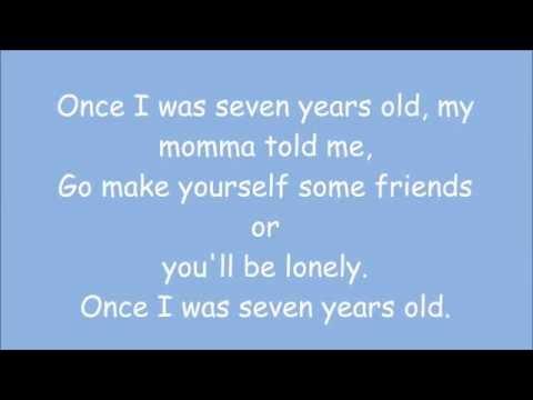 7 years   Lukas Graham   lyrics