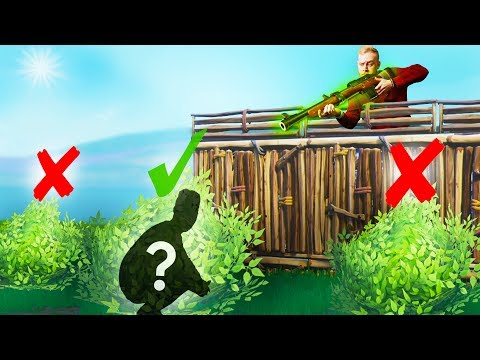 Hide And Seek With Bushes! | Fortnite