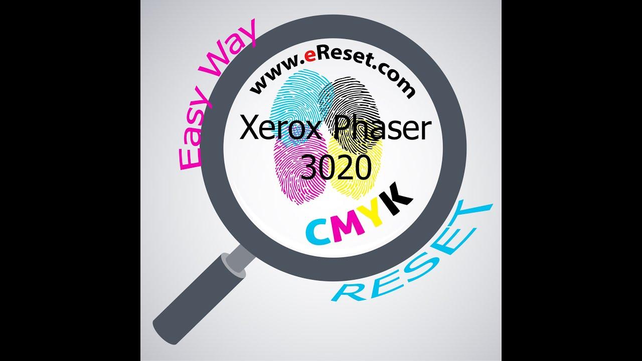 Fix firmware reset Xerox Phaser 3020 resoftare / resetare chip Easy Way