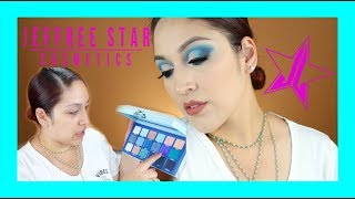 First Impressions Unboxing Jeffree Star Cosmetics Blue Blood Palette