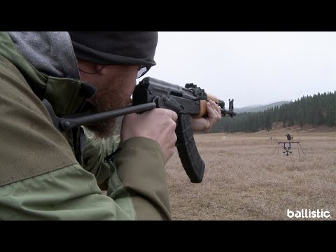 Shooting the Century Arms WASR 10 Underfolder AK-Pattern Rifle