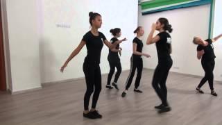 Студия Актер  Окрытый урок  Экзамен по танцу  Педагог  Делятицкая  Г А  20