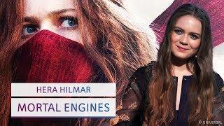 Wie wichtig sind weibliche Helden? - Mortal Engines Interview mit Jihae & Hera Hilmar