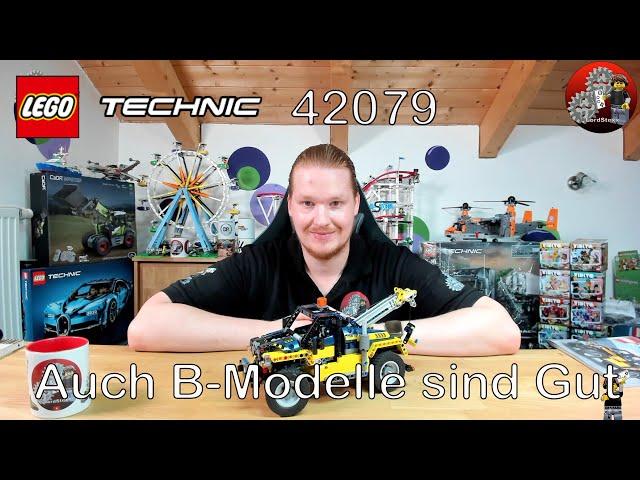 Auch B-Modelle sind gut   Lego® 42079 Review   Lego® Technic 42079 Schwerlast Gabelstapler B-Modell