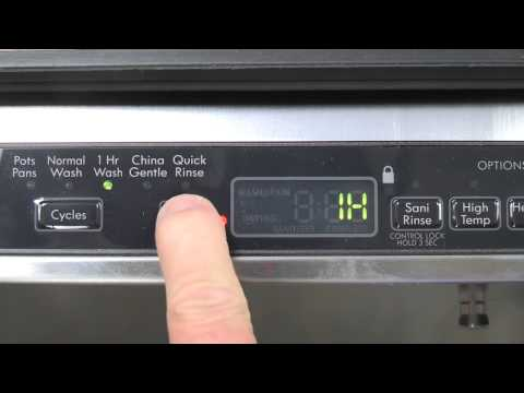 Dishwasher Delay Cycle, how it works, why use it and when to use.