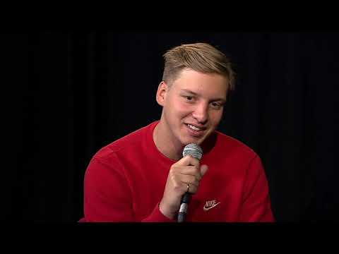 George Ezra told Sam and Amy an amazing story about 'Staying at Tamaras'