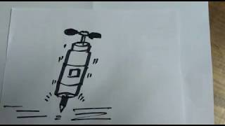 How to draw a drill ? drilling machine - Drawing & Painting Classes for kids