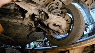 Переборка задней подвески форд фокус 2(сайлентблоки)