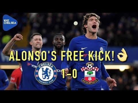 ALONSO FREE KICK BEAUTY WINS IT! || CHELSEA 1-0 SOUTHAMPTON || REVIEW