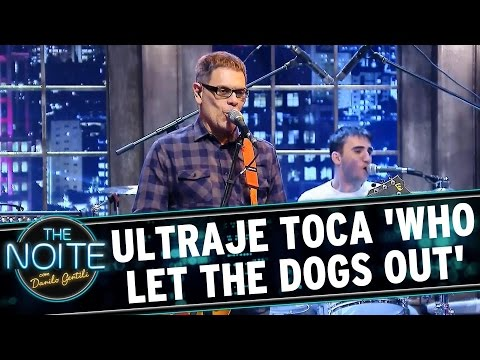 The Noite (28/08/15) - Ultraje Toca 'Who Let The Dogs Out'
