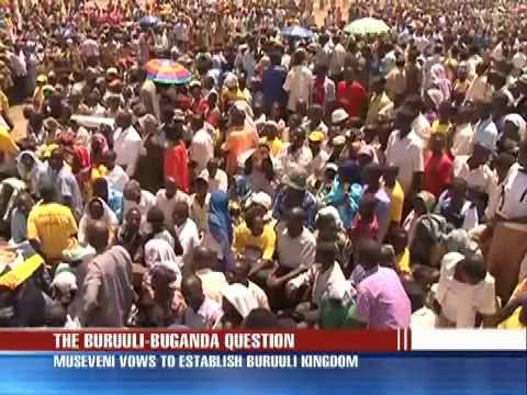 Museveni insists on Buruuli Chiefdom