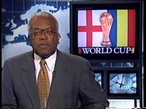Justin & Jimmy on ITN News at France 1998 World Cup