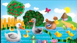 Обучающее видео для малышей - животные в деревне