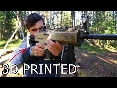 Awesome 3D Printed Airsoft Gun!