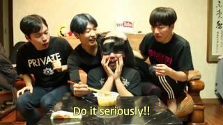 Cuckoo Crew_Eating Hot Fish Cake