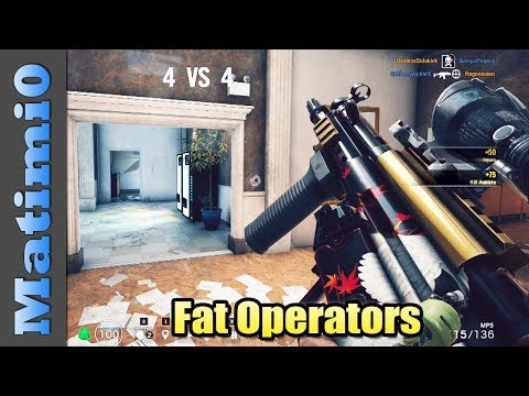 Fat Operators - Rainbow Six Siege  